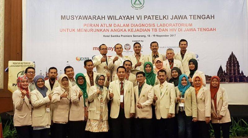 Musyawarah Wilayah VI PATELKI Jawa Tengah di Semarang