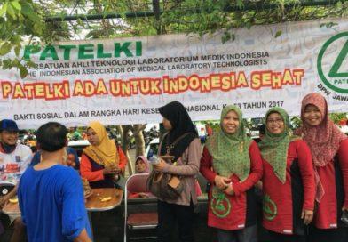 PATELKI DPC Boyolali Mengadakan Bakti Sosial Memperingati Hari Kesehatan Nasional 2017