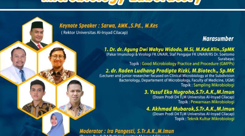 "Sertifikat Webinar Nasional ""Management of Clinical Microbiology Laboratory"""
